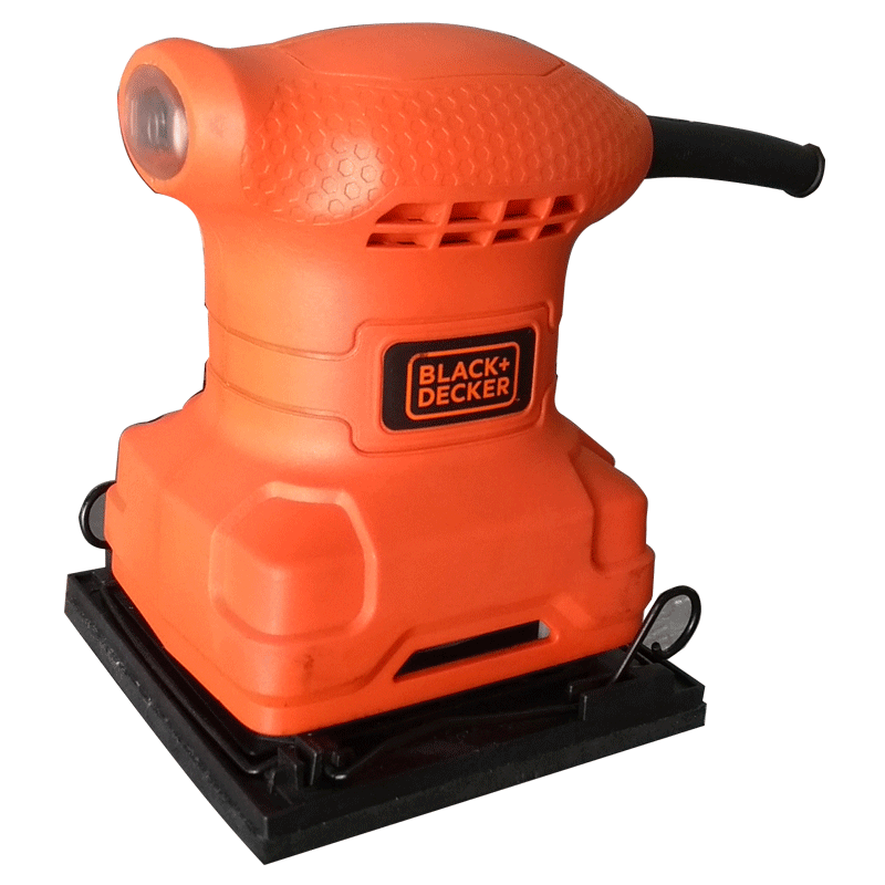 Lixadeira Orbital Black+Decker 1/4