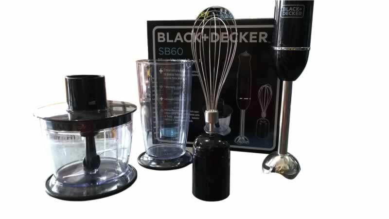 MIXER VERTICAL 3 EM 1 BLACK+DECKER MOD. SB60 - 220V